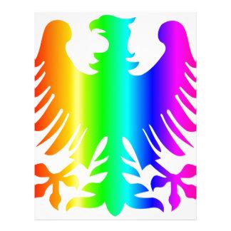 Rainbow Eagle Letterhead