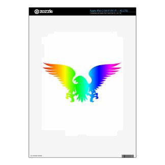 Rainbow Eagle Skin For iPad 3