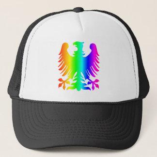 Rainbow Eagle Trucker Hat