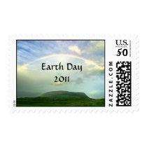 Rainbow Earth Day 2011 postage
