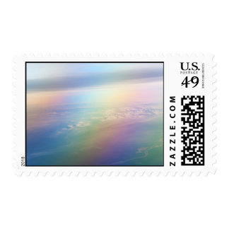 Rainbow Earth. Essence of Life Stamps