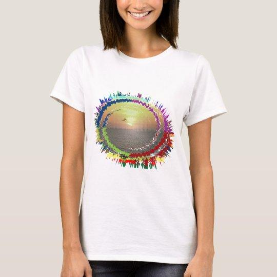 Rainbow Earth n Sky T-Shirt