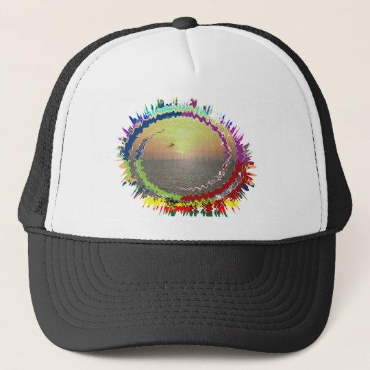 Rainbow Earth n Sky Trucker Hat