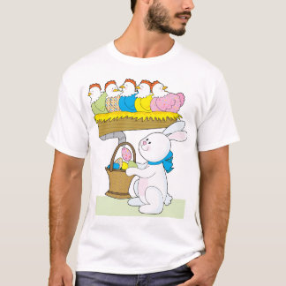 Rainbow Easter Chickens T-Shirt
