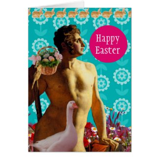Rainbow Easter Tarjeta De Felicitación