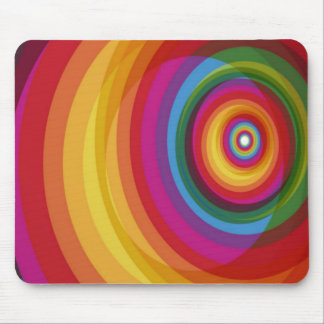 Rainbow Eclipse Mouse Pad