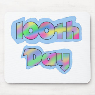 Rainbow Effect 100th Day Mouse Mats
