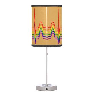 Rainbow EKG Sunray Table Lamp