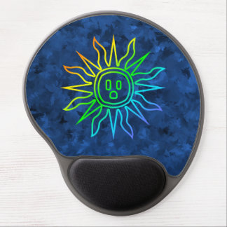 Rainbow Electric Sun Gel Mouse Pad