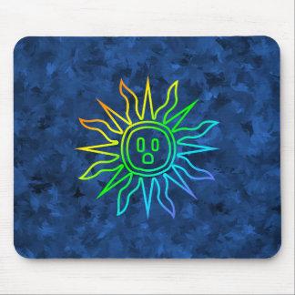 Rainbow Electric Sun Mouse Pad