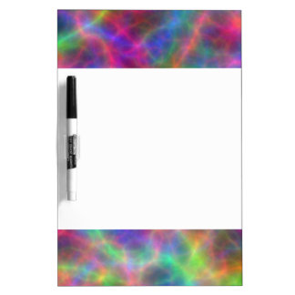 Rainbow Electrical Charges Of Light Dry Erase Board