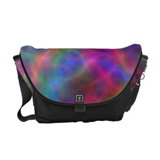 Rainbow Electrical Charges Of Light Courier Bags