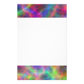 Rainbow Electrical Charges Of Light Stationery