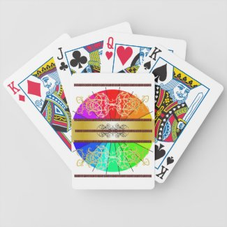Rainbow Elegant Ornate Games Gifts Cards