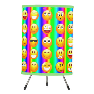 rainbow emoji lamp