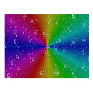 Rainbow en elefante skin Leather Optic Postal