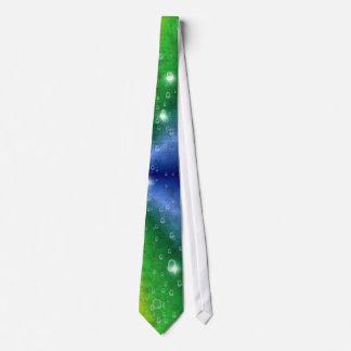 rainbow en elephant skin leatheroptik & raindrops corbata personalizada