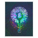 """Rainbow Energy Yin Yang Yoga 4.5"""" X 5.6"""" Flyer"""