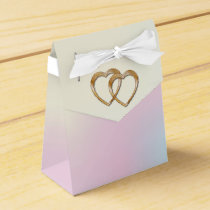 Rainbow Entwined Hearts-Gift Bag 1 Favor Box