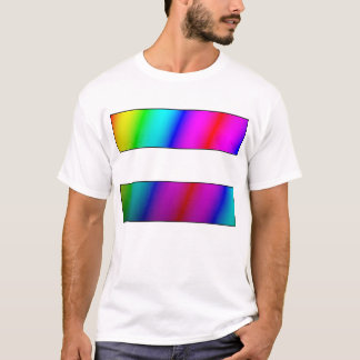 Rainbow equal marriage - equal period T-Shirt