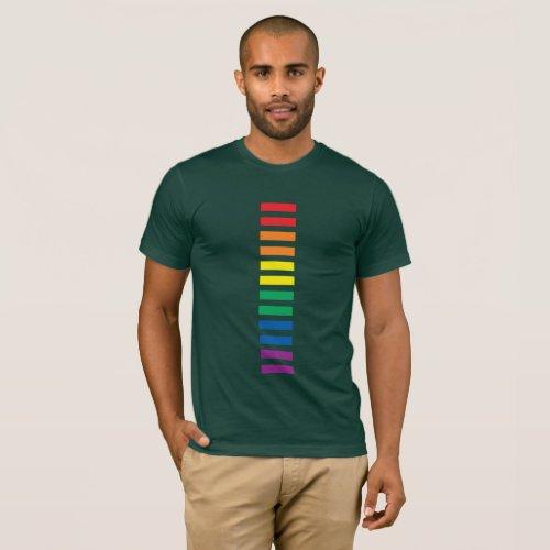 RAINBOW EQUALITY SIGN LGBTQI GAY LESBIAN PRIDE T-Shirt
