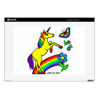 Rainbow Equality Unicorn Decals For Laptops