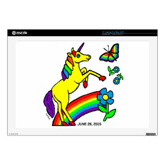 Rainbow Equality Unicorn Laptop Decals