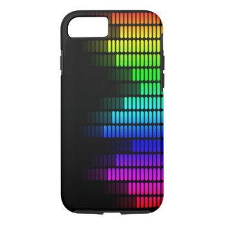 rainbow equalizer iPhone 7 case