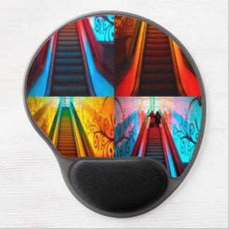 Rainbow Escalators Gel Mousepad