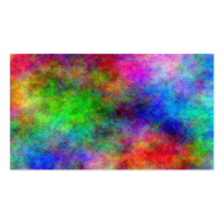 Rainbow Explosion Double-Sided Standard Business Cards (Pack Of 100)