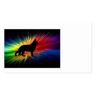 rainbow explosion german shepherd silo.png business card