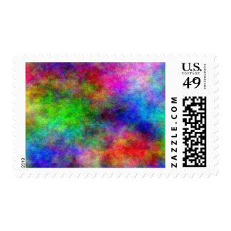 Rainbow Explosion Postage