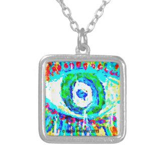 Rainbow Eye  Design Pendant