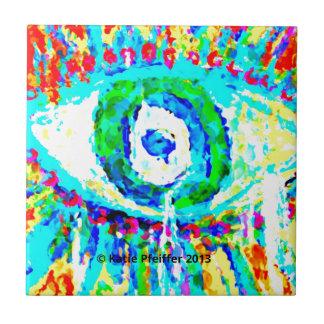 Rainbow Eye  Design Tiles