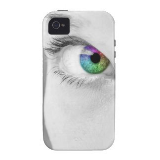 Rainbow Eye phone cover Vibe iPhone 4 Cover