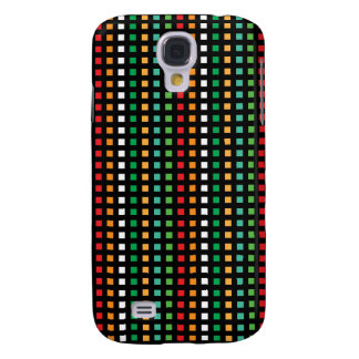 Rainbow Eyes Squared 3G 3GS Galaxy S4 Cover