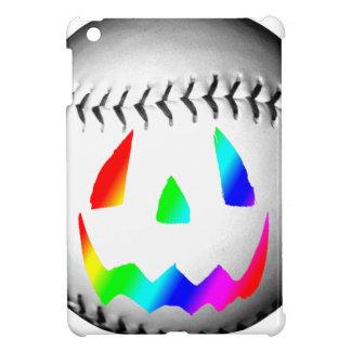 Rainbow Face Baseball iPad Mini Case