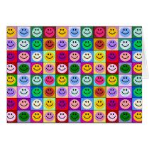Rainbow face squares