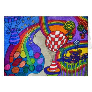 Rainbow Factory Card