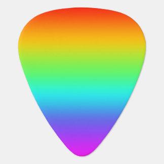 Rainbow Fade Guitar Pick