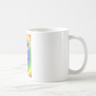 rainbow fae coffee mug