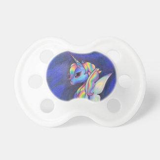 Rainbow Faerie Unicorn Baby Pacifiers