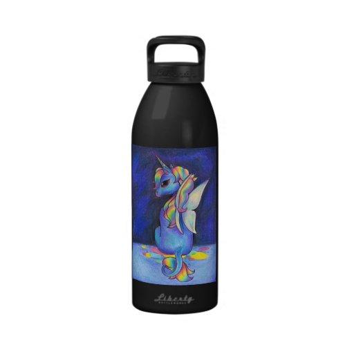 Rainbow Faerie Unicorn Drinking Bottles