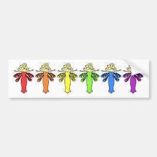 Rainbow Fairies Bumper Stickers