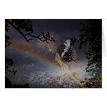 Rainbow Fairy Card