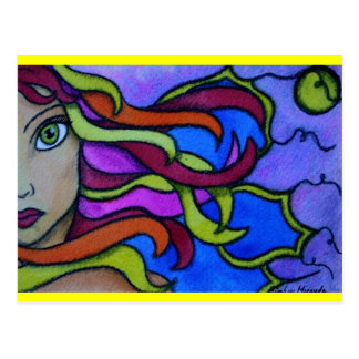 Rainbow Fairy Postcard