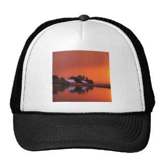 Rainbow Fall River California Trucker Hats