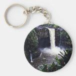 Rainbow Falls - Hilo, Hawaii Keychain
