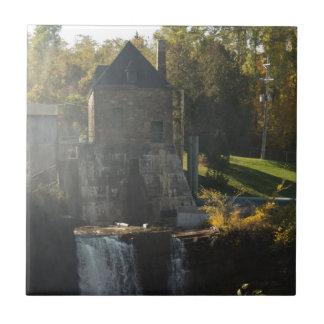 Rainbow Falls Hydroelectric Plant Ceramic Tile