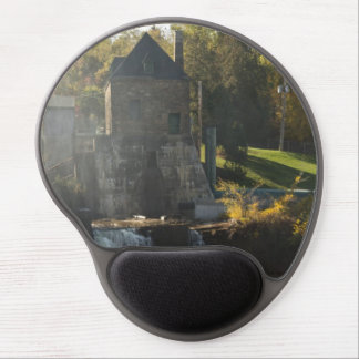 Rainbow Falls Hydroelectric Plant Gel Mouse Pad